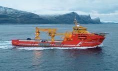 M/S «VIKING NEPTUN»er bygget etter design fra Salt Ship Design, type SALT 301 OCV  av Kleven Verft AS.  Skipsrevyen