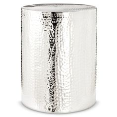 Threshold™ Silver Drum Accent Table. It Is Ridiculous How Much I  Desperately Want,