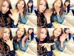 Tiffany, Sooyoung and Yoona