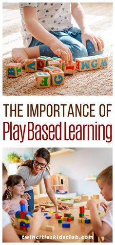 Twin Cities Kids Club Blogs: The Importance of Play Based Learning - Twin Cities Kids Club is here to help with ways to incorporate play-based learning into your preschooler's daily activities. Once you find ways to make learning fun, your days stressing over kindergarten prep will diminish. #kids #games #fungames #kidsplay #playbasedlearning #kidsactivities #gameday #fungames #funtimes Activities For 2 Year Olds, Daily Activities, Indoor Activities, Infant Activities, Play Based Learning, Fun Learning, Kindergarten Prep, Educational Crafts, Children Toys