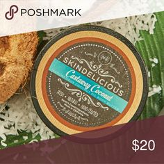 Perfectly Posh Castaway coconut body butter NWT Perfectly Posh skindelicious Castaway coconut body butter. Brand new unopened 8oz tub. Filled with coconut oil, shea butter, cocoa butter, and beeswax, this hydrating body butter moisturizes and heals skin with a fresh, tropical coconut scent reminiscent of the perfect island getaway. Perfectly Posh Makeup