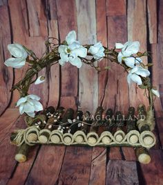 Magical Fairy bed branch bed newborn by MagicalLandPhotoProp