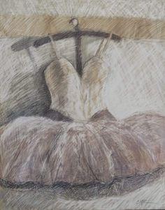 Tulle Tutu by Carolyn McDonald