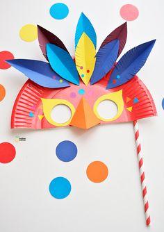 DIY carnival mask