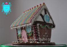 Pastelowy Domek z Piernika