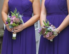Flower Design Events: Beautifully Intimate Outdoor Wedding of Biba & Stephen at Bartle Hall Hotel Bride Bouquets, Bridesmaid Bouquet, Bridesmaid Dresses, Wedding Dresses, Purple Wedding Flowers, Summer Garden, Flower Designs, Most Beautiful, Events
