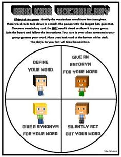 Minecraft reading passage readingla pinterest reading this is a perfect way to integrate social studies and science vocabulary terms to your reading block fandeluxe Image collections