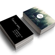 Premade Photography Business Card Modern Minimal Calling