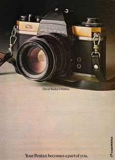 And think of what he accomplished with this humble SLR It's not the equipment, but the IDEAS that matter!