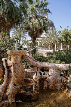 Fountain - Mt of Beatitudes, Kare Deshe, Hazafon, Israel