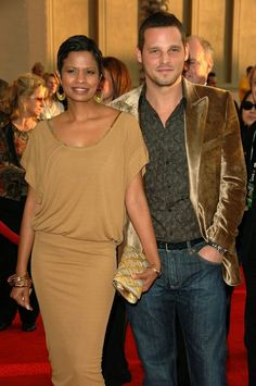 Keisha Chambers Photos Photos - Keisha Chambers and actor Justin Chambers arrive at the 2006 American Music Awards held at the Shrine Auditorium on November 2006 in Los Angeles, California. Justin Chambers, John Chambers, Interracial Celebrity Couples, Interracial Family, Interracial Marriage, Mixed Couples, Couples In Love, Beautiful Love, Beautiful Couple