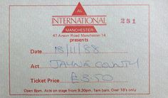 Jayne County Ticket For International 1 Manchester UK. Flyers Tickets, Manchester Uk, Acting, Knowledge, Posters, Consciousness, Poster, Postres, Banners