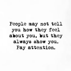 Oh yes. Pay attention. Otherwise it becomes a tail chasing game.