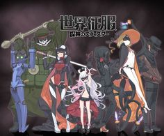 Pictures 'World Conquest: Stratagem Star' Anime Gets First Promo, Staff List Video Japanese, Japanese Anime Series, Promo Staff, Character Concept, Character Design, 2014 Anime, Anime Titles, Kohaku, Thing 1