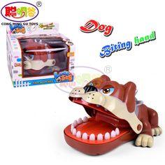 CongMingGu Large Bulldog Crocodile Shark Mouth Dentist Bite Finger Game Funny Novelty Gag Toy for Kids Children Play Fun #Affiliate