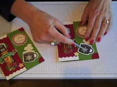 Starbucks Christmas Coffee Card -SimpleSimpleStamping.com - FLASH CARD 2.0 by Connie Stewart