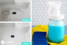 Try This Powerful Homemade Shower Cleaner & Soap Scum RemoverPinterestFacebookPinterestFacebookPrintFriendly