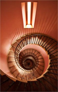 Pink Curls stairway