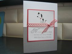 Dog Sympathy Card by apaperaffaire on Etsy