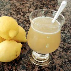Brown Sugar Lemonade. Delicious!!