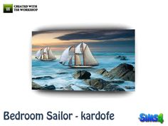 Maritime painting  Found in TSR Category 'Sims 4 Paintings & Posters'