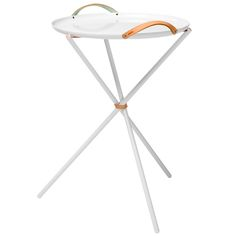 Carry Me Home pöytä, valkoinen Table Furniture, Home Furniture, Furniture Design, Scandinavian Living, Scandinavian Interior, Foldable Table, Living In Italy, White P, Nordic Design