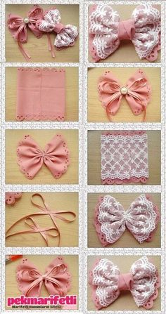 10 DIY Hair Bow Tutorials for Girls - Pretty Designs DIY Bow bows diy crafts home made easy crafts craft idea crafts ideas diy ideas diy crafts diy idea do it yourself diy projects diy craft handmade gift bow kurdela DIY Bows :) gonna have to try this out Diy Ribbon, Ribbon Crafts, Ribbon Bows, Ribbons, Diy Crafts, Ribbon Flower, Diy Flower, Flower Girls, Hair Bow Tutorial