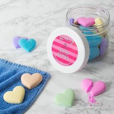 Bath Bomb Hearts  If youve got tender feelings for your tub treat yourself to these bath bomb hearts and let things get a little steamy in your bathroom. Find it at @pommedorgiftideas  #bathbombs #bathandbody #handmadeisbetter #bathart #bath #bathfun #bathtime #bathfizzy #selfcare #metime #treatyoself #giftideas #handmadeproducts #handmade #naturalproducts #bathbombtime #gifts #personalisedgifts #thoughtfulgifts #stylematters #amatterofstyle