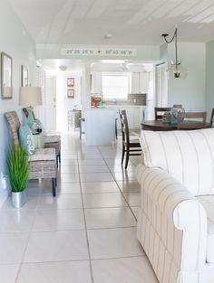 FLORIDA CONDO -- Coastal Dining Room Decor - The Lilypad Cottage