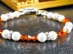 Multiple Sclerosis MS Awareness Bracelet by PixieDustFineries on Etsy