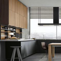 TWELVE - Designer Einbauküchen von Varenna Poliform ✓ Alle Infos ✓ Hochauflösende Bilder ✓ CADs ✓ Kataloge ✓ Preisanfrage ✓ Händler in der..