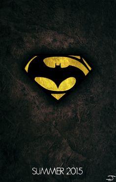 Batman Versus Superman 2015 #BatmanVsSuperman #ManofSteel2