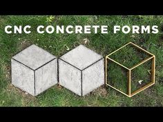 CNC Concrete Forms | How to make your own Walkmaker - YouTube
