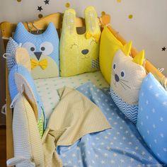 Детская ручной работы. Ярмарка Мастеров - ручная работа. Купить Бортики в кроватку. Handmade. Постельное белье, текстиль для детской