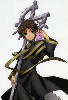 Teito and Mikage from 07 Ghost