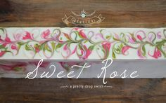 Making and Cutting of Sweet Rose Handmade Soap