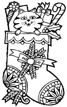 Christmas Fireplace Coloring Page Summer art projects Kid