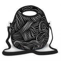 a1b595fc48c1 Lancheira Térmica Black Lines - Lancheira Térmica Neoprene Bag Up