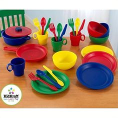 Play Kitchen Dishes recycled chef play set | children's corner | pinterest