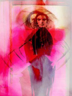 'The unknown beauty' von Gabi Hampe bei artflakes.com als Poster oder Kunstdruck $23.56