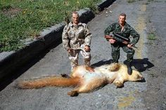 Big Game Hunting in Saskatchewan thanks to Roy Taylor - Trophy Squirrel