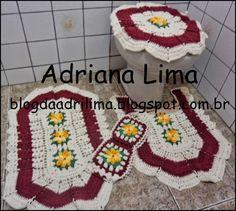 Adriana Lima: Jogo de banheiro Encanto