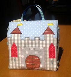 Torebka zamek - portable fabric castle
