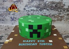Minecraft Cake by Dream Cakes Chicago