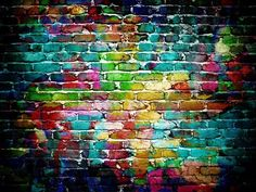 Graffiti Wall Photography Backdrops Newborn Baby Colorful Brick Wall Photo Backgrounds for Children Studio Props Studio Backdrops, Wall Backdrops, Custom Backdrops, Muslin Backdrops, Dorm Tapestry, Tapestry Wall Hanging, Background For Photography, Photography Backdrops, Retro Photography