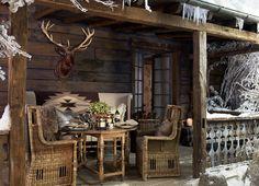 "Ralph Lauren's ""Alpine Lodge"" collection"