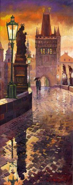 Prague painting- my home:)