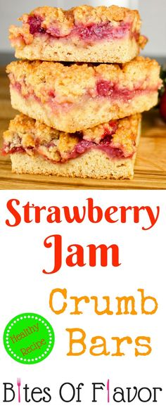 Strawberry Jam Crumb