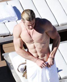 <b>Everyone loves Loki, yeah, yeah, but can we take a moment to appreciate actual Norse God Chris Hemsworth?</b>