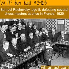 One of the best chess master in the whole world -WTF fun facts